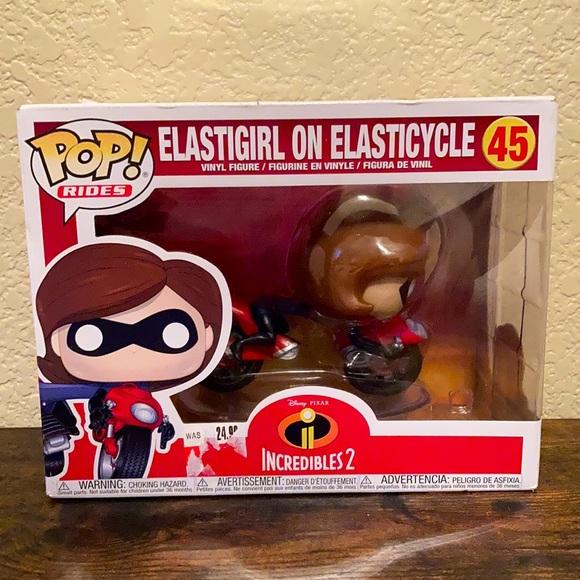 Funko Elastigirl on Elasticycle #45